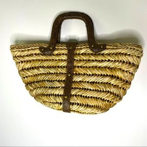 Chico's Straw Woven Bag
